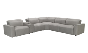 Merit Storm Power Reclining Sectional