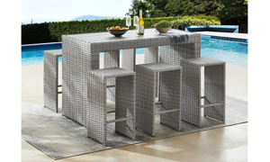 Suffolk 7-Piece Outdoor Bar Height Dining Set