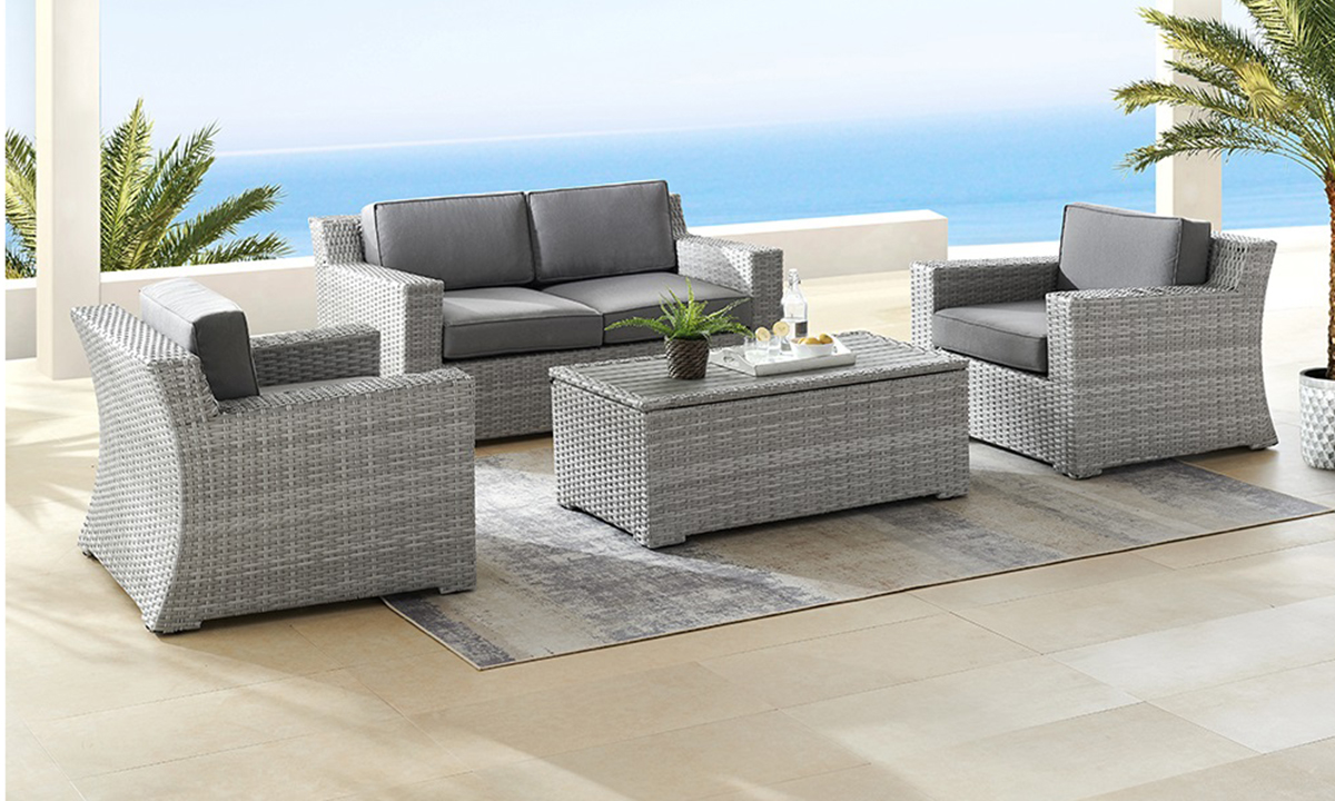 Suffolk 4-Piece Outdoor Lounge Set