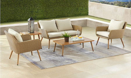 Tivoli 5-Piece Outdoor Living Set