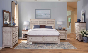 Belmont Solid Wood Storage Bedroom Set