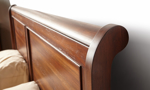 Frenchie Louis Philippe Sleigh Bedroom Set