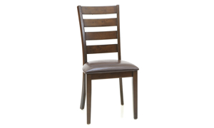 Kona Raisin Solid Mango Wood Ladder Back Dining Chair