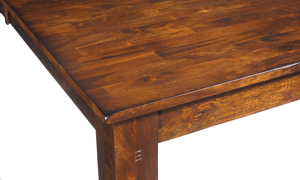 Kona Raisin Solid Mango Wood Dining Table