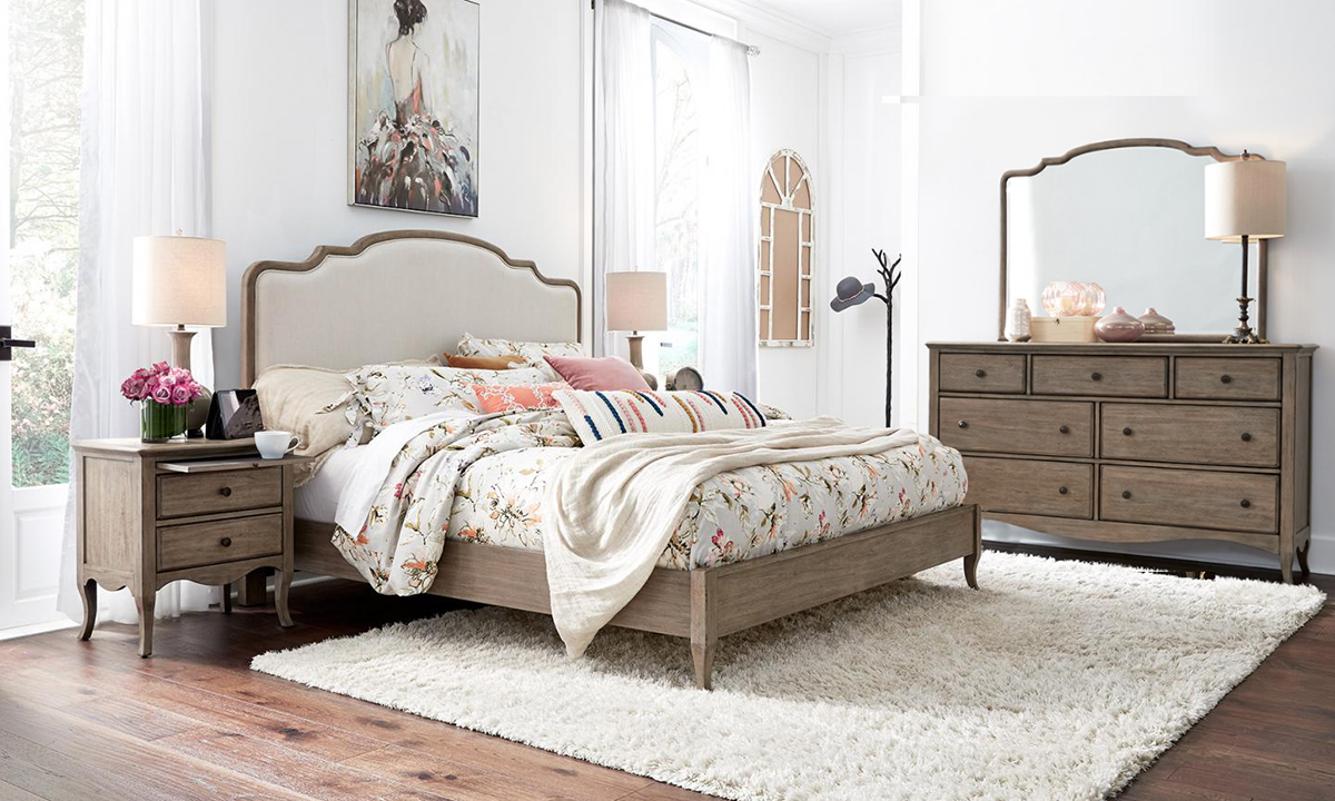 aspenhome Provence Bedroom Set
