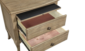 aspenhome Provence 2-Drawer Nightstand