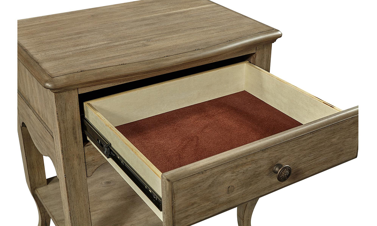 aspenhome Provence 1-Drawer Nightstand