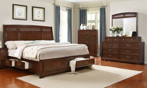 Parkhurst Cherry 8-Drawer Dresser