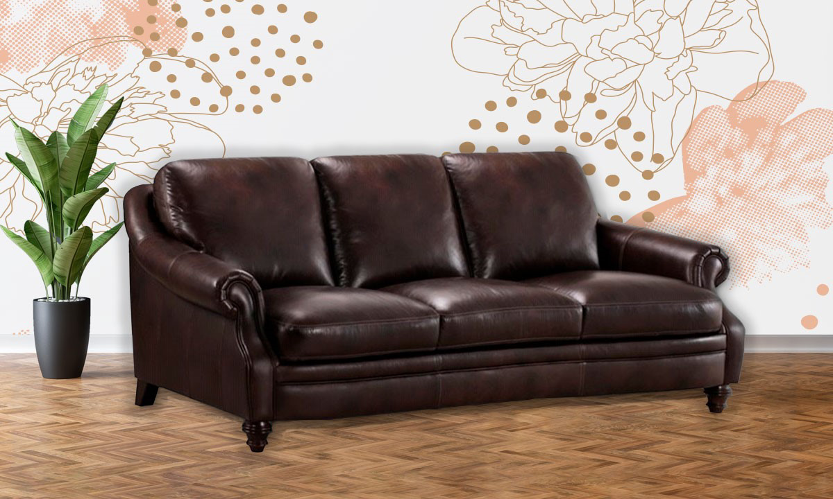 St. James Leather Sofa