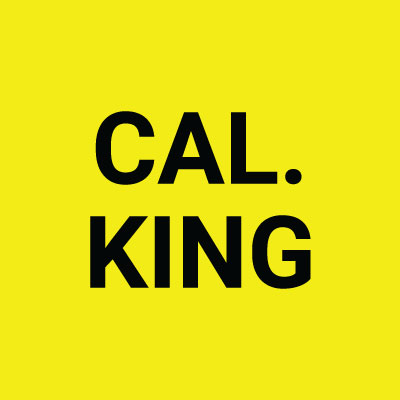 1 pc Cal King