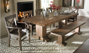 Cape Town Acacia Wood 7-Piece Dining Set