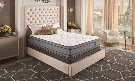 "Serta® Bellagio® Luxe Pillow Top 14"" Mattress & Wireless Power Adjustable Base"