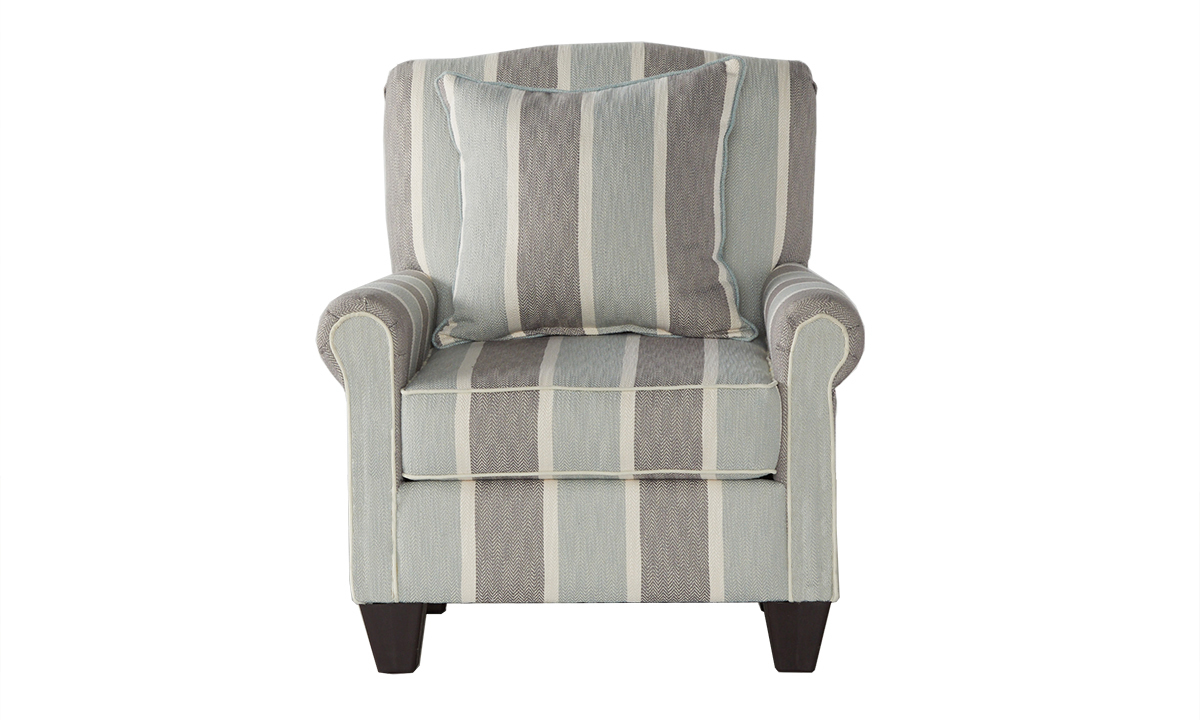 Picture of Life's a Beach Striped Accent Chair