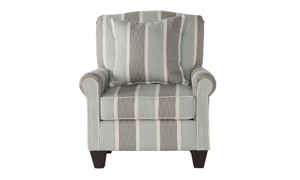 Life's a Beach Striped Accent Chair