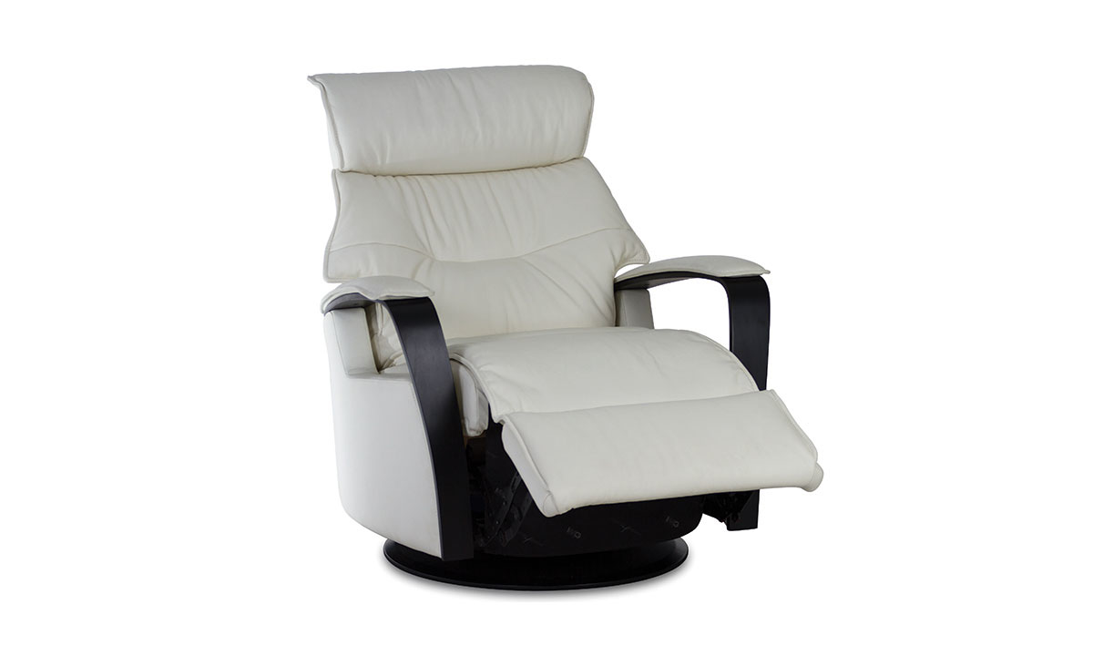 IMG Sailor Large Top-Grain Leather Power Reclining Glider Chair