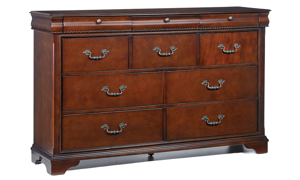 Louis Philippe Chestnut Bedroom Sets