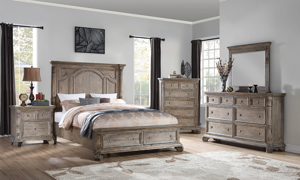 Tilly Taupe Storage Beds