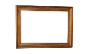 Belmont Antique Linen Mirror