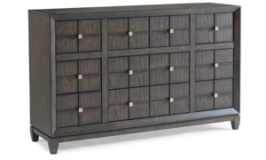 Regency Mink 9-Drawer Dresser