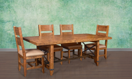 Horizon Home San Miguel 5-Piece Solid Pine Dining Set