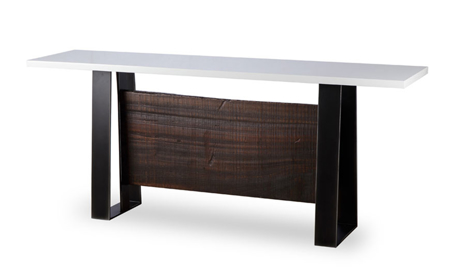 Thomas Bina Jordan Cashew Wood Console Table
