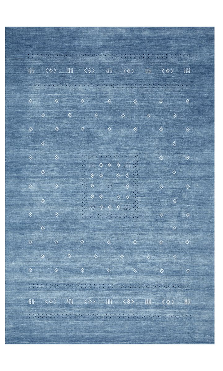 Samantha Sapphire, Hand Knotted Area Rug