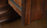 San Miguel 64-Inch Brown Solid Pine Entertainment Console