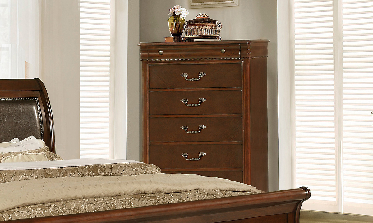 Picture of Louis Philippe Chestnut 6-Drawer Chest