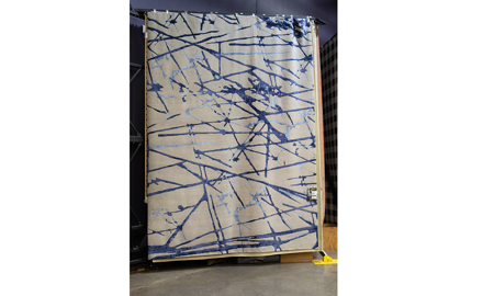Space Age 2426 Gray Blue 10' x 14' Area Rug