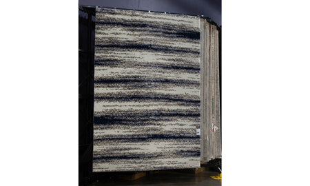 """Cotton Tail 7'10"""" x 10'10"""" Ombre Grey Area Rug"""