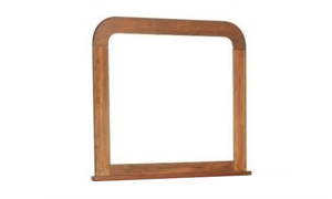 Louis Philippe French Classic Mahogany Mirror