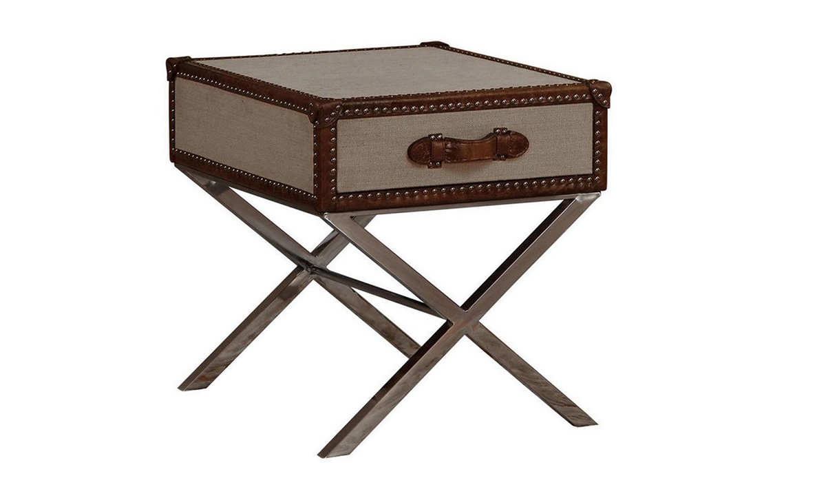 Lazzaro Trunk End Table