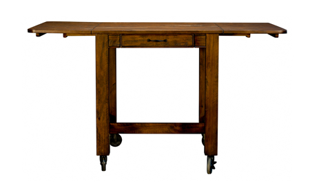A-America Aberdeen Brown Small Counter Height Dining Table