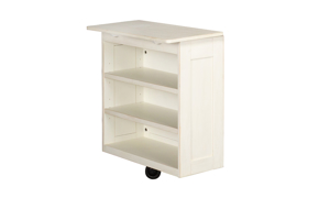 A-America Aberdeen White Modular Open Shelf Unit