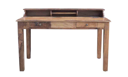 Scribe Handcrafted Solid Wood Writing Desk