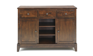 Kona Raisin Solid Mango Wood Dining Server