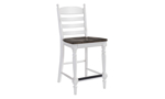 European Farmhouse Counter Height Dining Chair