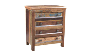 Sri Lanka Handmade Solid Wood Nightstand