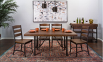Intercon Industrial Pine Dining Table
