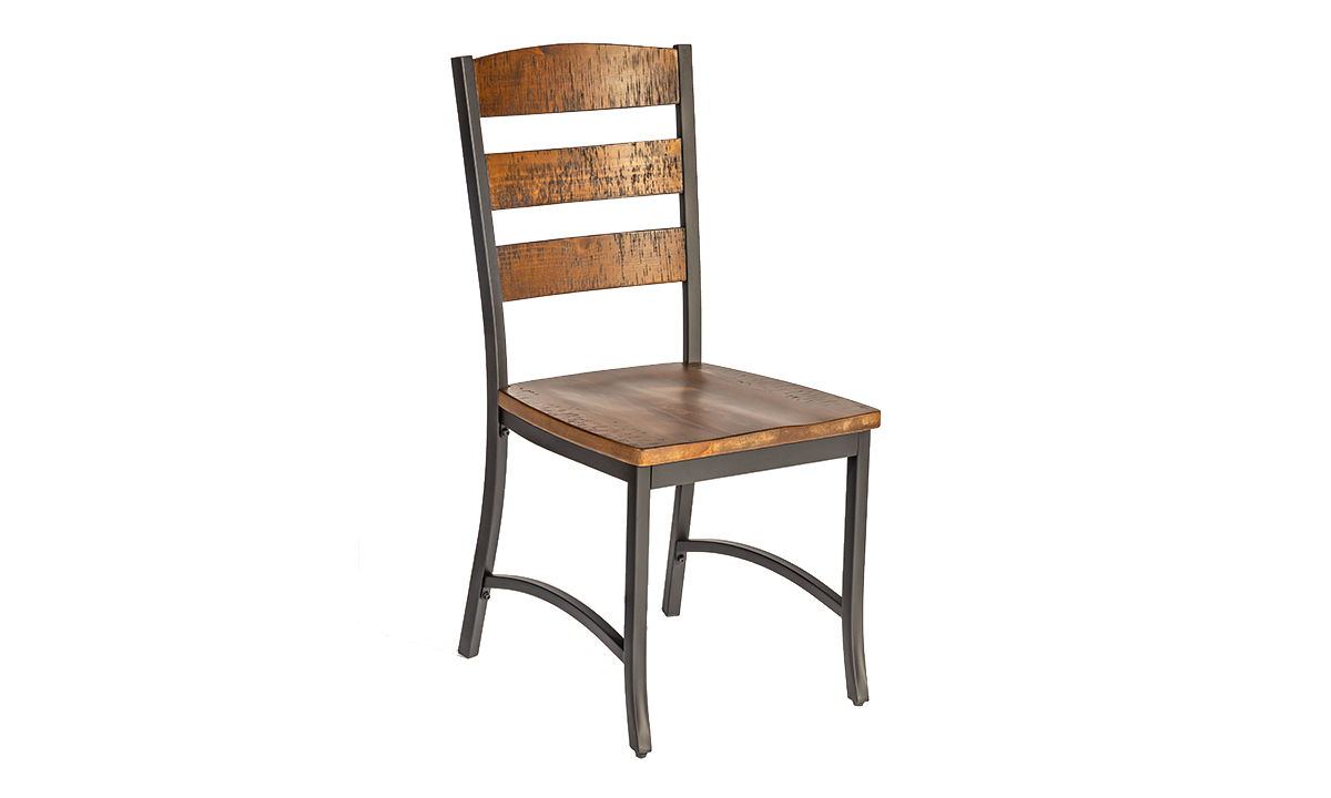 Intercon Industrial Pine Dining Chair