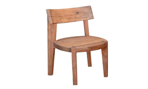 Madison Live Edge Acacia Wood Dining Chair