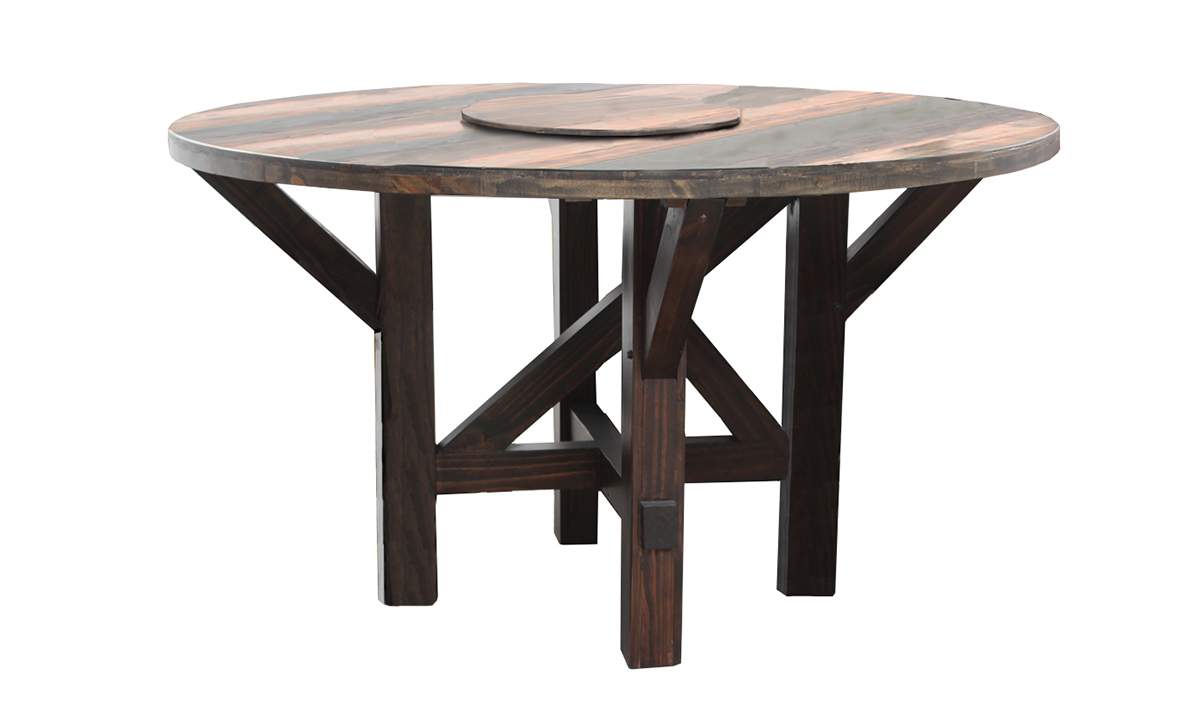 Urban Roads Newport 4-Piece Round Dining Set