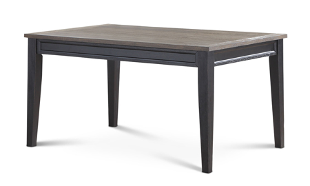 Raven Farmhouse Two-Tone Dining Table
