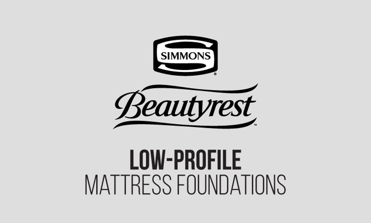 "Simmons Beautyrest Silver 900 5"" Low Profile Foundations"