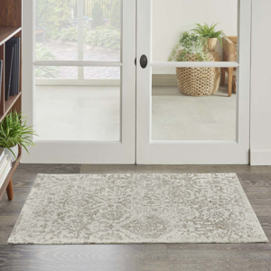 Picture of Damask DAS06 Ivory Area Rugs