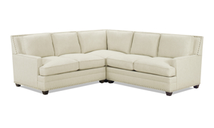 Carolina Custom Noland 3-Piece Sectional Linen