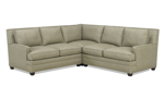 Carolina Custom Noland 3-Piece Sectional Warm Grey