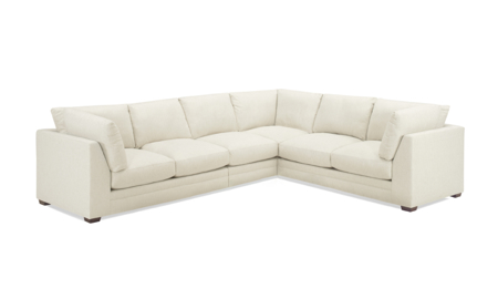 Carolina Custom Holloway 4-Piece Sectional Linen