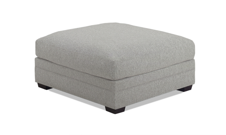 Carolina Custom Holloway Ottoman Stone