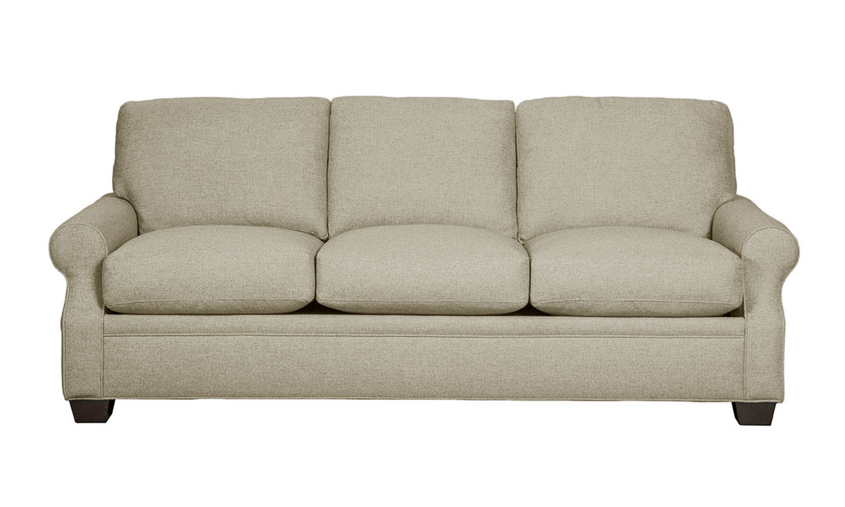 Carolina Custom Larkspur Sofa Warm Grey